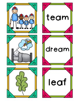 Vowel Teams - ea  (long e)