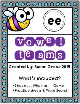 Vowel Teams - ee (long e)