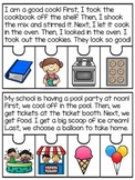 Vowel Teams Game: 20 Fluency & Sequencing Puzzles BUNDLE Story Retell Activities