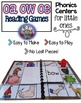 Vowel Teams oa ow oe:  Long O Phonics Games for Word Work or Centers