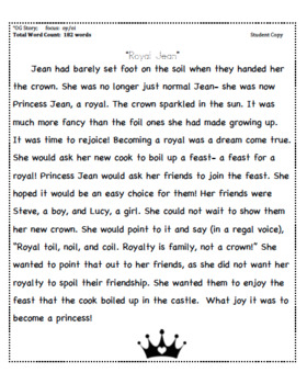 Vowel Teams oi and oy Decodable Story + Running Record Form