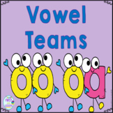 Vowel Teams: oo and oa