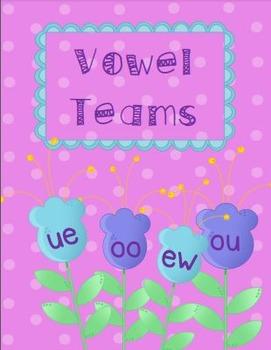 Vowel Teams: oo, ou, ew, ue