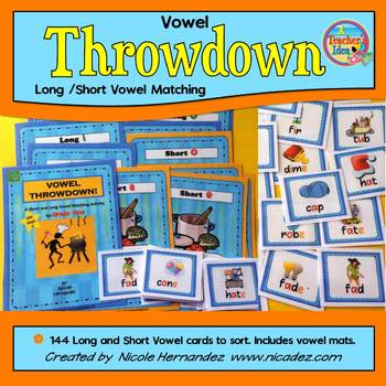 Vowel Sorting- Short and Long Sounds