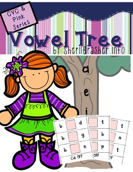 Vowel Tree - CVC & Pink Series
