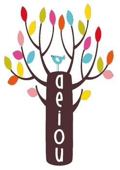Vowel Tree- create cvc words