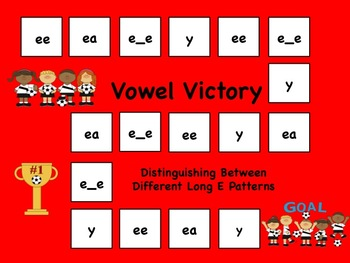 Long Vowel Sports Game Pack