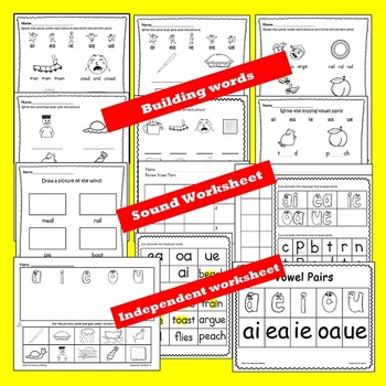 Vowel, Vowels , Long Vowels, Vowel Pairs, Vowel Sound, Guided Reading Long Vowel
