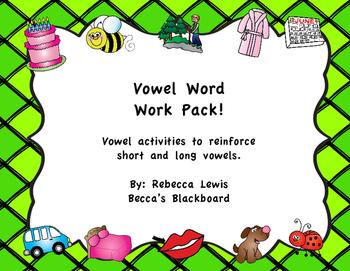 Vowel Word Work