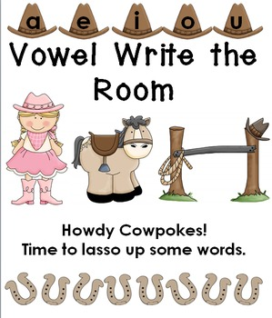 Vowel Write the Room