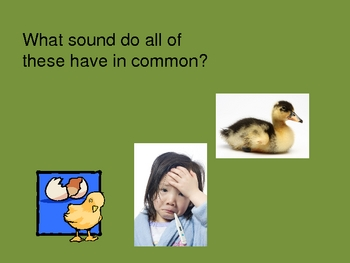 Vowel and Consonant Digraph PowerPoint