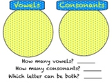 Vowel and Consonant Letter Sort