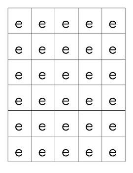 Vowel and Consonant Letter Tiles