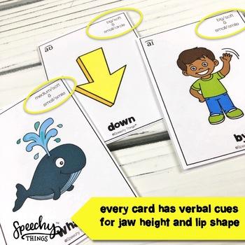 Vowel and Diphthong Cards Bundle