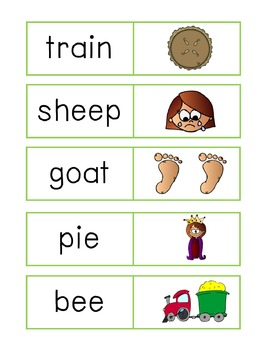 Vowel digraph loop game