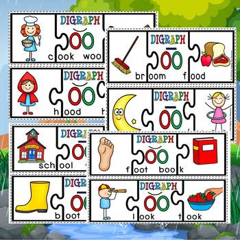 Vowel digraph puzzles and posters(dollar deal)