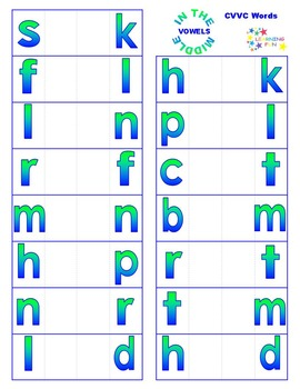 Vowel in the Middle - CVVC Words