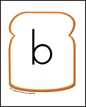 Vowel teams Build-A-Word CVVC, PB & J sandwich game & Dramatic play