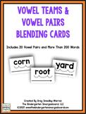 Vowel teams & Vowel Pairs Blending Cards
