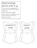 Vowel-y and Consonant-Y Plurals