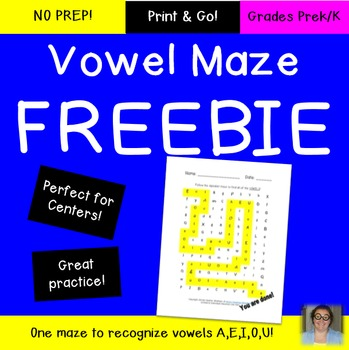 FREE Letter Discrimination Maze