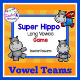 Vowel Teams Game: Super Hippo