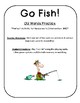 Vowels OU words Go Fish! intervention game