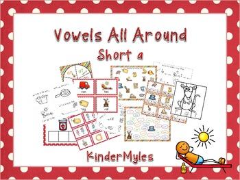 Vowels All Around - Short A CVC