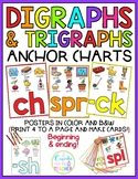 Digraphs & Trigraphs Anchor Charts