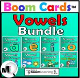 Vowels Bundle Boom Cards Distance Learning