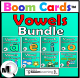 Vowels Bundle Boom Cards Distance Learning