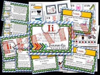 Vowels Bundle Package: Building Phonemic Awareness & Phonics Skills