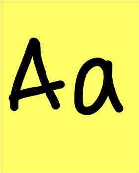 Vowels Display Posters