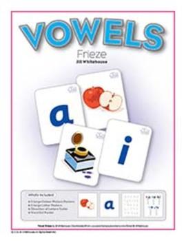 Vowels Frieze by Jill Whitehouse