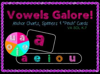 "Short Vowels & Long Vowels Galore: Anchor Charts, ""Pinch"""