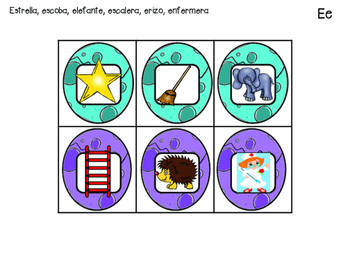 Vowels Game in Spanish - Dinosaur theme