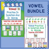Vowels In Isolation & In Words Bundle: Long & Short Vowels & Diphthongs