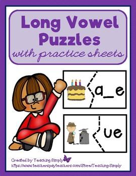 Vowels - Long Vowel Puzzles
