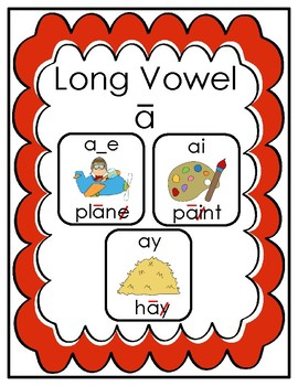 Vowels - Long a - Phonics