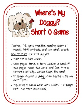 Vowels: Long and Short O Fun!