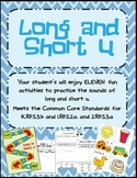 Vowels: Long and Short U Fun!