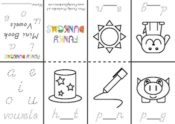 Vowels Mini Book