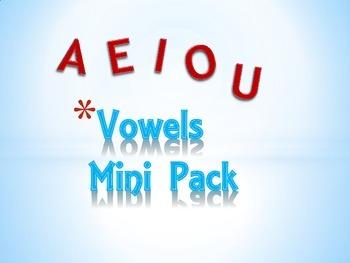 Vowels Mini Pack