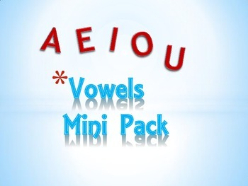 Vowels Mini Pack