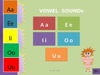 Vowels- Part One