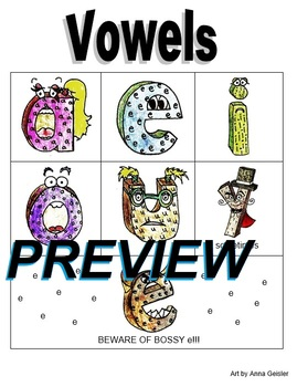 Vowels Phonics Posters