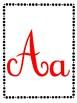 Vowels Picture Cards (spanish) Tarjetas de las Vocales