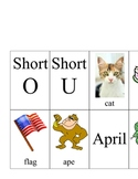 Vowels Pocket Chart Activity
