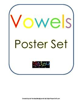 Vowels Poster Set