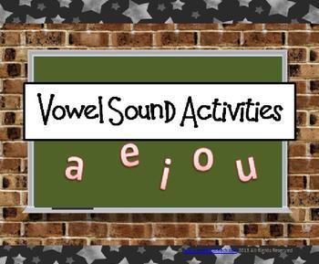 Vowels (Pre-K-1st Grade)